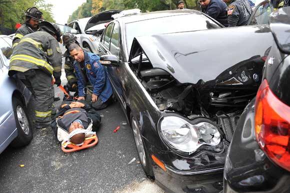 Brooklyn Car Crash Flatbush