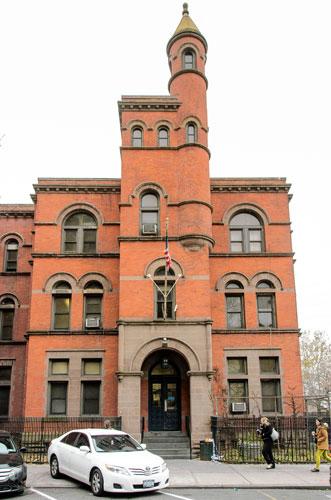 88th precinct station house