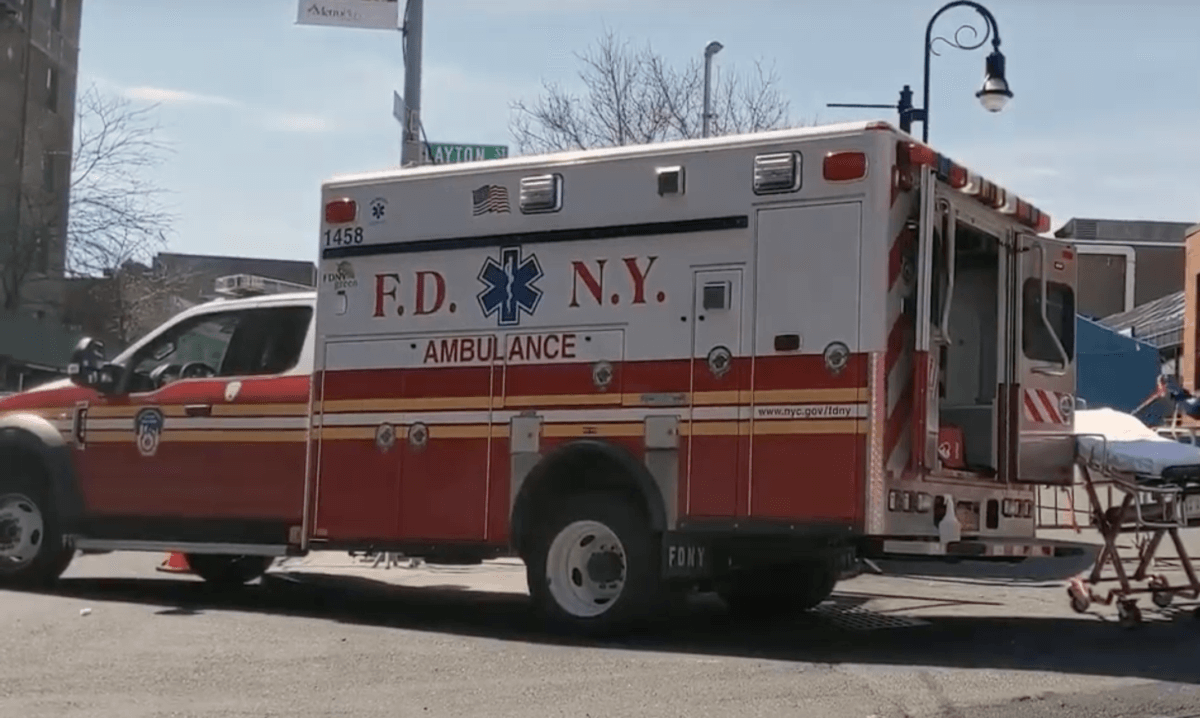 BROOKLYN AMBULANCES SUFFER LONG DELAYS, STAFFING SHORTAGES DURING PANDEMIC