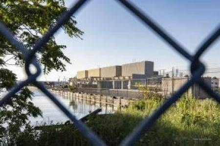 Photo of the Gowanus gas facility, proposed site of the gowanus repowering project
